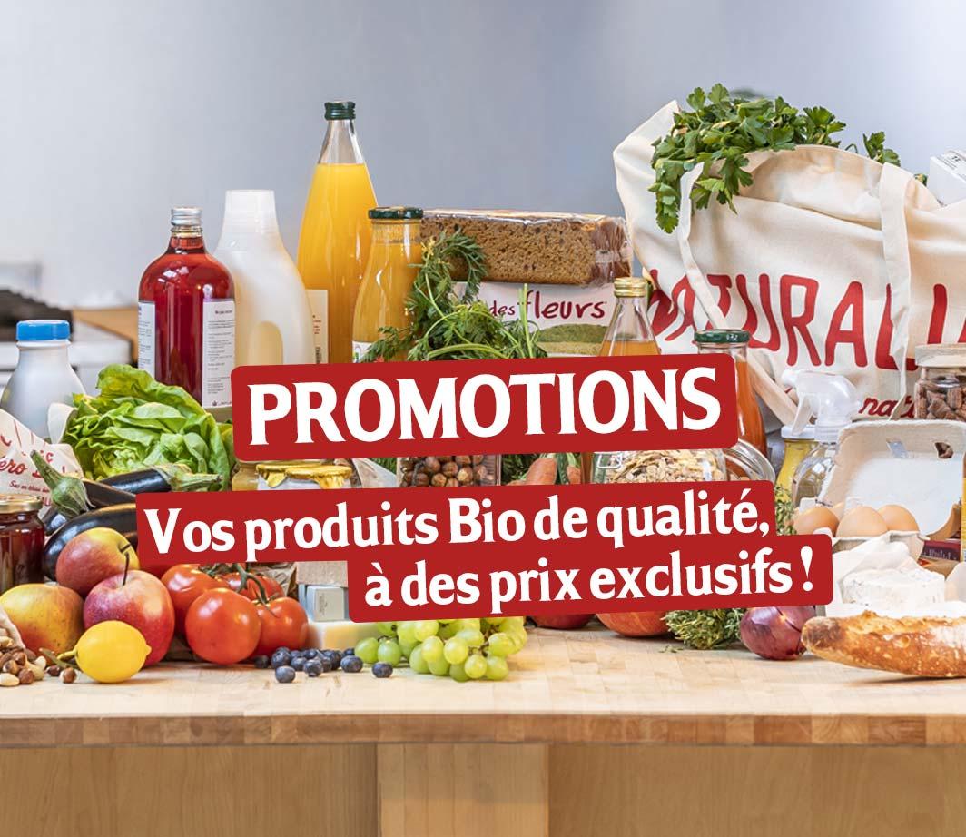 Page de catégorie de produits Promotions